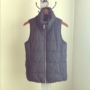 Ladies' Black Puffer Vest